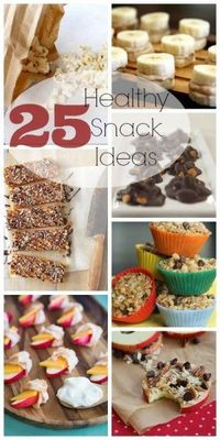 25 Healthy Snack Ideas |