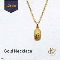 Perfect when worn with your favorite dress on any Occasion. �–� Product type: Gold Necklace  �–� Price: 26.000 KD �–� Weight: 1.150 Grams (Approx.) �–� Free Delivery �–� Karat: 18 Karat �–� Part Number: FK...