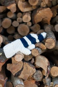 flax & twine: Garter Stitch Chunky Mittens, Striped or Color Block - A Quick Cozy Knit Gift