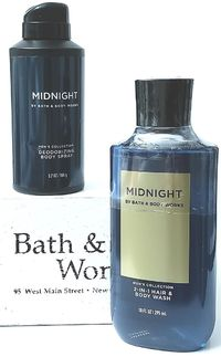 Bath & Body Works MIDNIGHT 2-in-1 Body Wash & Deodorizing Body Spray $22.05