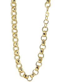 18ct Gold filled Diamond Cut Solid Belcher Chain necklace £35.00