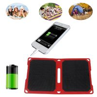 10 W 5 V/2A Foldable Portable Solar Charger With Built In 2 Port USB Ultra Lightweight For IOS Adroid $59.99