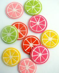 coasters for the knitting table