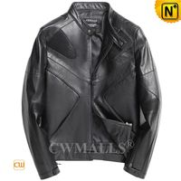 Men Leather Jacket | Custom Fitted Lambskin Leather Jacket CW809030 | CWMALLS.COM