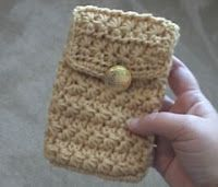 Crochet Geek : Crochet Cell Phone Case