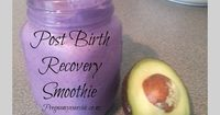 Postnatal Recovery Smoothie: What you eat post child birth can effect how well you recovery. To promote optimal recovery you need to ensure you are eating the best nutrients to aid this. #postbirth #smoothie