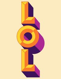 Typography :: LOL by Manuel Cetina