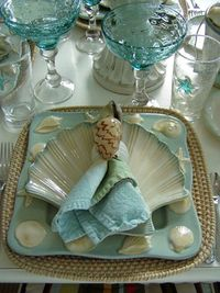 HGTV fans share how they take the party outside in style with table settings that range from casual to chic.