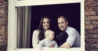 The New Royal Family (Duchess Kate, Prince George & Prince William)