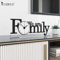 Acrylic Modern Design Family Desk Watch $50.40