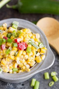 Corn Salad Recipe is a light, refreshing salad recipe great by itself, on a bed of lettuce, or on fish tacos.