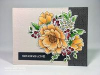 Stamp with Sandy: PP364 Autumn Floral, Peony Bouquet and Beautiful Day Stamp Sets, Altenew