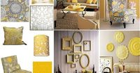 grey and yellow living room   gray and yellow living room   For the Home