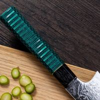 Chef Knife Laminated Steel Japanese Kiritsuke Shape Blade Home Kitchen Cooking Tool ILS491.00
