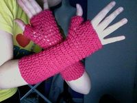 crochet arm warmers easy fingerless