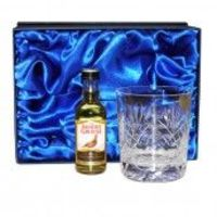 Engraved Crystal & Whisky Gift Set