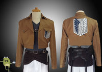 Attack on Titan Cosplay Ymir Outfit Recon Corps Costume