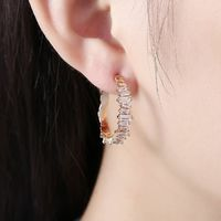 Swarovski Crystal Abstract Crystal Dust Earrings $24.00 Free Shipping