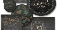 Personalize your homemade or even purchased food and beverage gifts with these chalkboard style fall labels. These are perfect for a host or hostess gift, a bir
