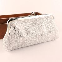 Women Envelope Clutch Handbag Purse Tote Ladies Bag