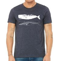 Nautical Whale Skeleton Men's Tee Shirt $19.99 �œ�Handcrafted in the USA! �œ�