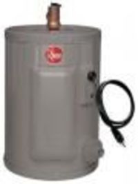 RHEEM PROE21 WATER HEATERS TANKLESS WATER HEATERS Samstores offers RHEEM PROE21, A 220 volts tankless water heaters. Single resistored stainless steel heating element to prolong anode rod and tank life. For more details visit samstores.com Price:- $429....