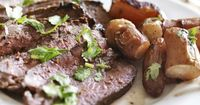 How to Cook Flank Steak at a Low Temperature in the Oven
