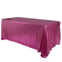 Your Wedding Linen offers rectangular duchess sequin tablecloths in different colors at the wholesale rate. These rectangular duchess sequin tablecloths come in Approx. 60x102 inch size with a solid pattern, also Sequin Chair Caps available to match. Visi...
