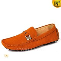 CWMALLS® Designer Suede Driving Loafers CW707113