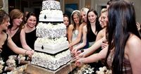 Most popular in the South, especially around New Orleans, the Cake Pull gets it's roots from an old Victorian tradition of �€œribbon pulling.�€ In those days, charms of luck and good fortune were placed into the wedding cake by the ...