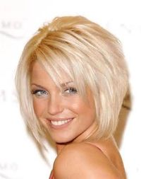 Karlie is going to cut my hair like this on Tuesday!!