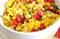 This summer corn salad is extremely adaptable and completely addictive. Add it to your summer side dish menu. You will not be disappointed!