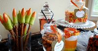 Halloween Themed Baby Shower | This is an example of a Basic Themed Party Package.
