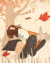 Don't you just love those Autumn days where you can just sit and read in the park? Penelope Dullaghan