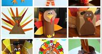 Pinterest Facebook Twitter Google+ Yummly Email Print StumbleUpon When I think about Thanksgiving crafts, the obligatory ones that comes to mind are turkey craf