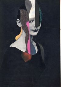 Collage On Paper