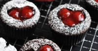 Cherry Cordial Valentine's Day Cupcakes - Lovers Day Cupcakes