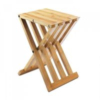 Bamboo Foldable Stool by Decorshop $34.95