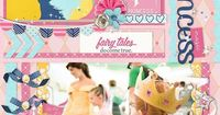 Disney Project Life page created by WenRob featuring Project Mouse Princess by Sahlin Studio & Britt-ish Designs