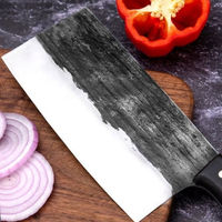 Hand forged Chef Knife Chinese Cleaver Home BBQ Kitchen Tool ILS334.00