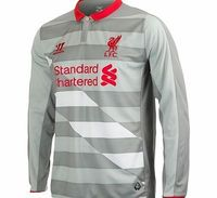 Warrior Liverpool Third Goalkeeper Shirt 2014/15 Long Liverpool Third Goalkeeper Shirt 2014/15 Long Sleeve Grey  Perfect your goalie skills in this long sleeved Liverpool Third Goalkeeper Shirt which is built with breathable War-Tech® fabric to keep you...