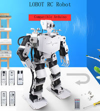 LOBOT Robo-Soul H3.0 Arduino Smart Programming RC Robot Voice Infrared Control Tracking Robot Toy