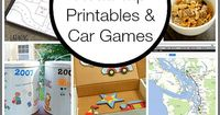 Looking for some fun and creative ways to keep the kids busy on the next road trip? Here's a a whole bunch of car games for kids and road trip printables sure t