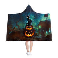 Halloween Hooded Blanket $68.00