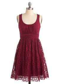 Artisan Iced Tea Dress in Raspberry, #ModCloth Here is the other color that my bridesmaids can choose from.