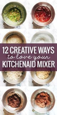 Tis the season for KitchenAid Mixers! But let's start this post off with some honest truth-telling. If I didn't have a food blog, I don't think I would own a Ki