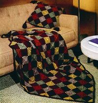Patchwork Afghan Pattern