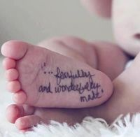 """""""...fearfully and wonderfully made."""""""