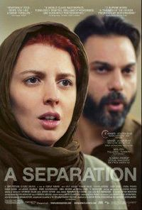 A Separation (from Iran): The acting is superb, the tension is real, the plot is not ordinary but it is realistic. We see complex situations from our own lives and dealings with others. And we pass judgment on the characters for things we're n...