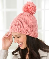 Create Some Charm Hat Knitting Pattern